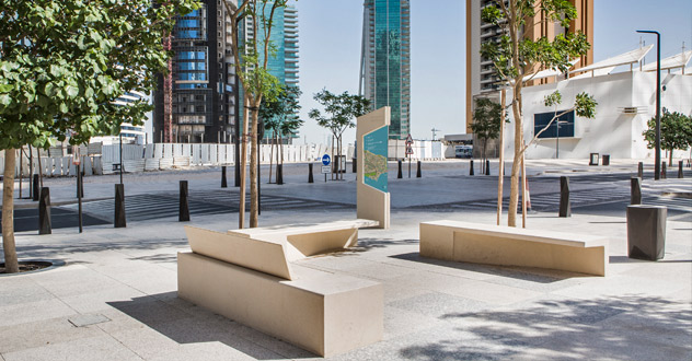 Ashghal bespoken furniture Mock-up in West Bay & Al-Aziziya, Doha by Aecom