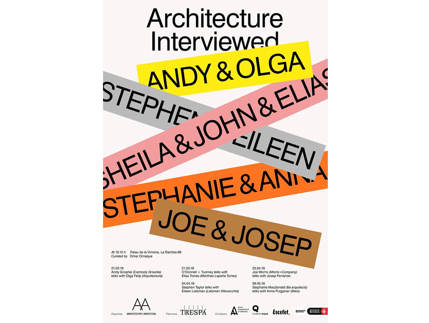 "Nuevo ciclo de conferencias ""Architecture Interviewed"""