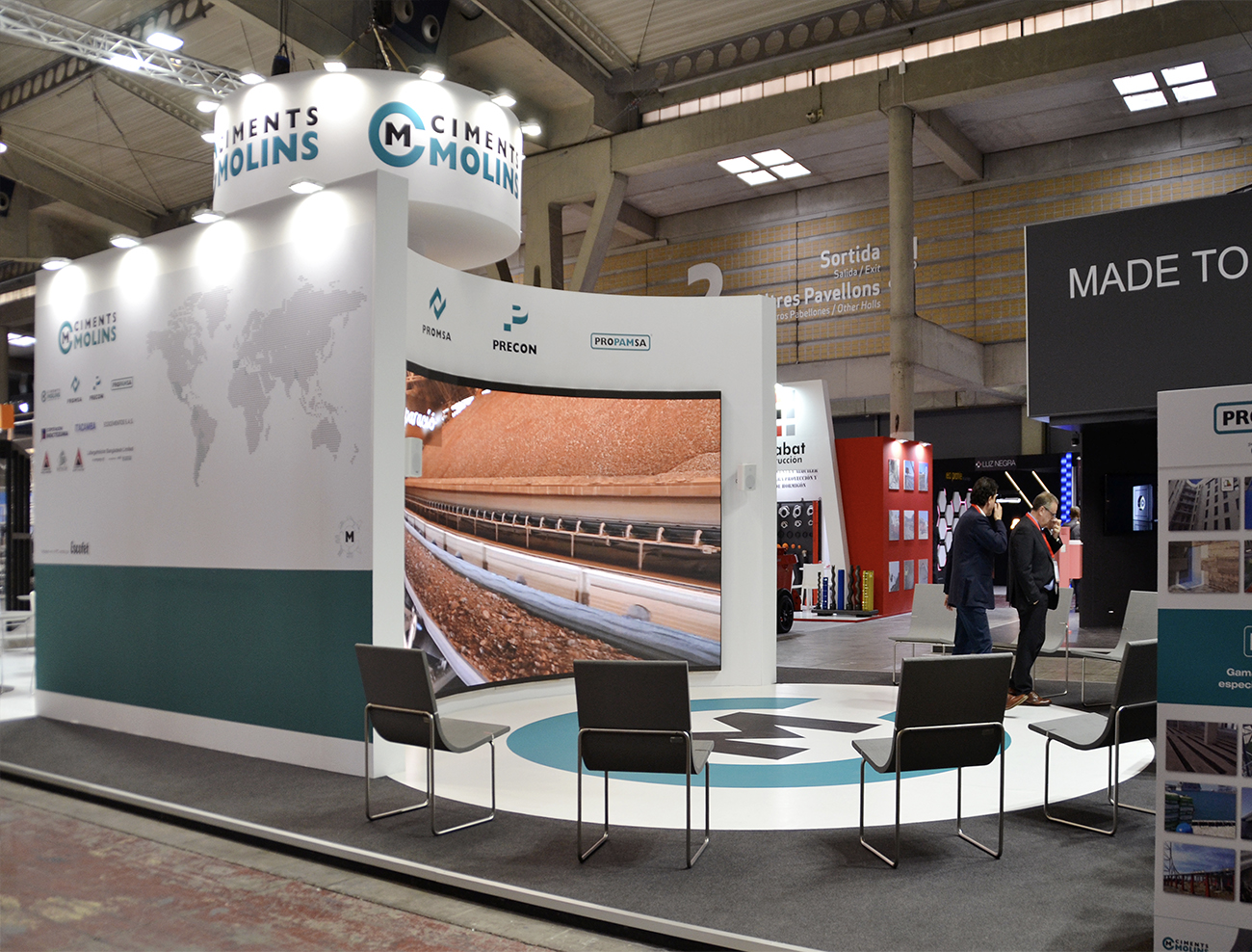 Escofet at Construmat 2019