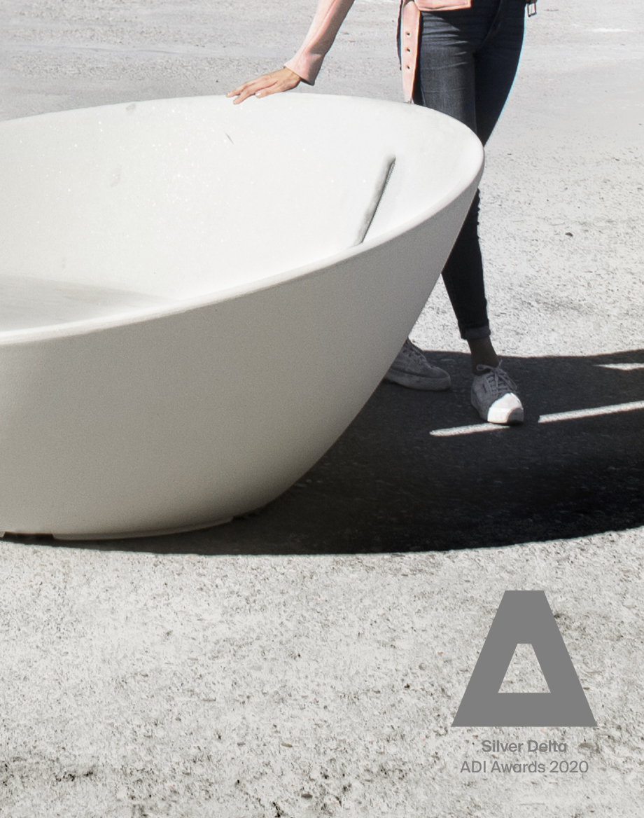 Satellite, concrete landscape platform by Gerard Arqué and Marín Caneda