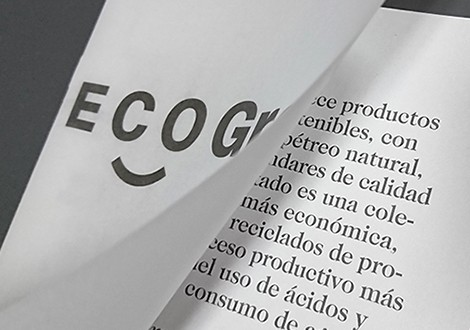 Eco-Grey® new recycled and ecological concrete material 2018