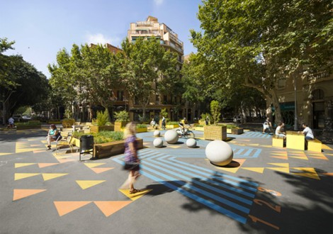 Superilla Sant Antoni in Barcelona by Escofet